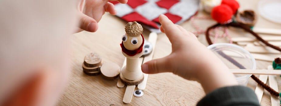 Artisanat de Noël pour les enfants