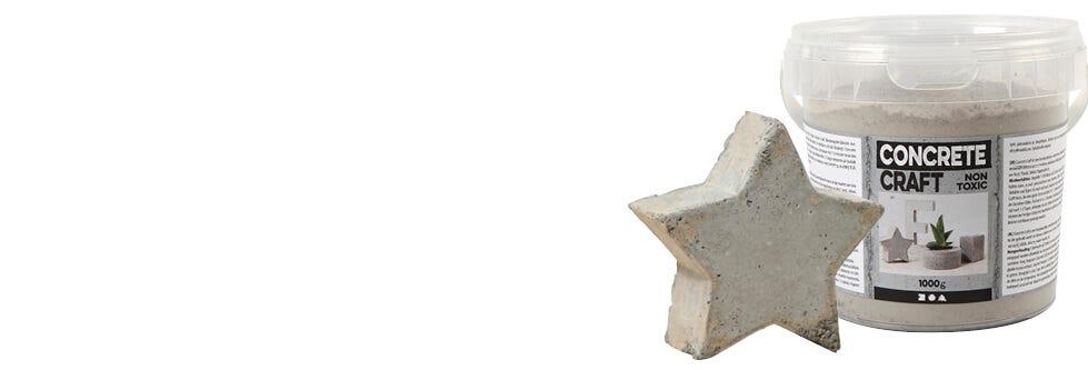 Moulage et coulage d'objets en béton