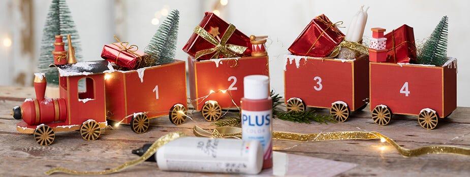 Cadeaux de Noël, cadeaux du calendriers de l'Avent et emballage