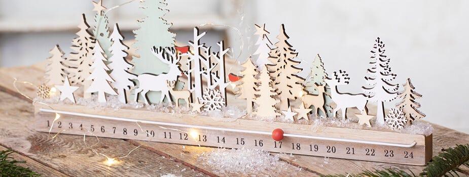 Des bougies décoratives pour la Noël