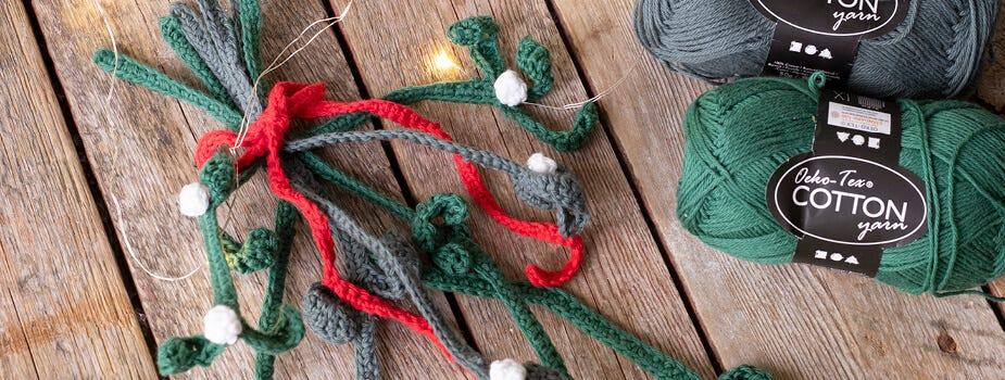 Décorations de Noël crochetées et tricotées