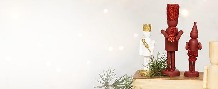 Décorations de Noël avec le casse-noisette