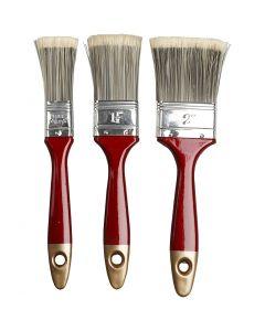 Pinceaux à vernis, L: 2,5-4,5 cm, 3 pièce/ 1 Pq.