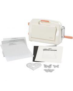 Kit débutant - Machine à couper et à embosser, A4, 210x297 mm, 1 set