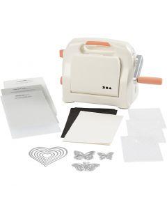 Kit débutant - Machine à couper et à embosser, A5, 155x210 mm, 1 set