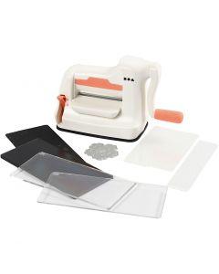 Machine à couper et à embosser - kit de démarrage, A7, 74x105 mm, 1 set