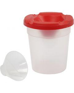 Pots antiverse, H: 8,5 cm, d: 8 cm, 250 ml, 15 pièce/ 1 Pq.