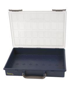 Valisette de rangement, Sans godets de séparation, H: 5,7 cm, dim. 33,8x26,1 cm, 1 pièce