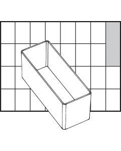 Godet de rangement, dim. A9-2, H: 47 mm, dim. 109x39 mm, 1 pièce