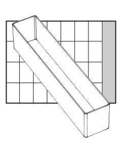 Godet de rangement, dim. A9-4, H: 47 mm, dim. 218x39 mm, 1 pièce
