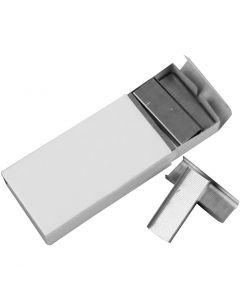 Agrafes, L: 12 mm, dim. 24/6 , 10x1000 pièce/ 1 Pq.