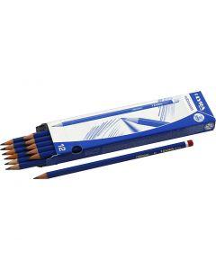 Crayons Robinson, d: 6,8 mm, dureté B, mine 2 mm, 12 pièce/ 1 Pq.