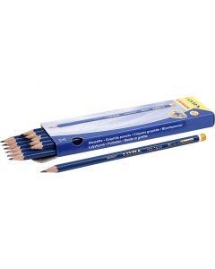 Crayons Robinson, d: 6,8 mm, dureté HB, mine 2 mm, 12 pièce/ 1 Pq.