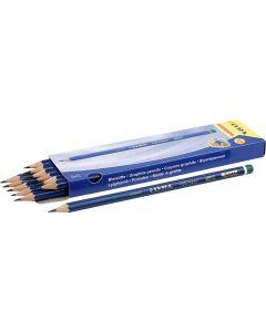 Crayons Robinson, d: 6,8 mm, dureté H, mine 2 mm, 12 pièce/ 1 Pq.