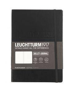 Carnet de notes, A5, ép. 2 cm, 240 , noir, 1 pièce