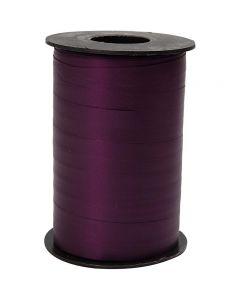 Ruban cadeau, L: 10 mm, mate, violet, 250 m/ 1 rouleau