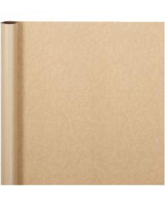 Papier cadeau, L: 50 cm, 60 gr, naturel, 5 m/ 1 rouleau
