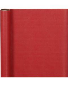 Papier cadeau, L: 50 cm, 60 gr, rouge, 5 m/ 1 rouleau
