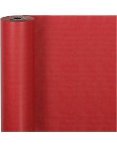 Papier cadeau, L: 50 cm, 60 gr, rouge, 100 m/ 1 rouleau