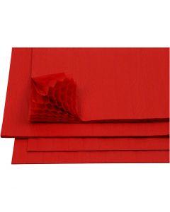 Papier Concertina, 28x17,8 cm, rouge, 8 flles/ 1 Pq.