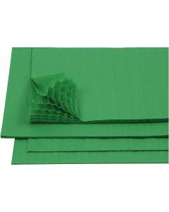 Papier Concertina, 28x17,8 cm, vert, 8 flles/ 1 Pq.