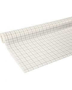 Papier patron quadrillé, L: 80 cm, 15 m/ 1 rouleau