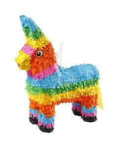 Piñata pour occasion festive, dim. 39x13x55 cm, couleurs franches, 1 pièce