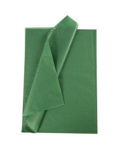 Papier de soie, 50x70 cm, 14 gr, vert, 25 flles/ 1 Pq.