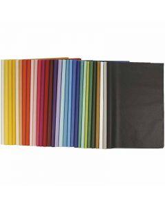 Papier de soie, 50x70 cm, 14 gr, 300 flles/ 1 Pq.