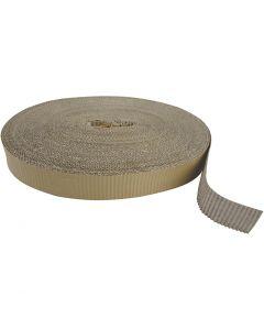 Rouleau de carton ondulé, L: 5,5 cm, 70 m/ 1 rouleau