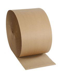 Carton ondulé, L: 30 cm, 70 m/ 1 rouleau