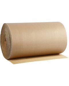Carton ondulé, L: 70 cm, 70 m/ 1 rouleau