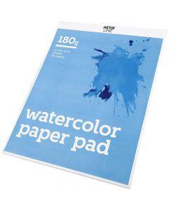Bloc de papier aquarelle, A3, 297x420 mm, 180 gr, blanc, 20 flles/ 1 pièce