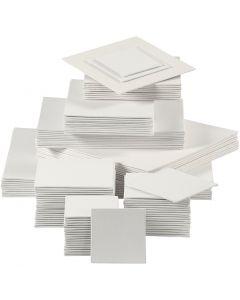 Canevas, 280 gr, blanc, 110 pièce/ 1 Pq.