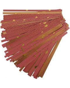 Bandes de papier étoiles
