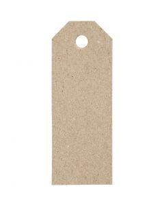Étiquettes cadeaux, dim. 3x8 cm, 220 gr, 20 pièce/ 1 Pq.