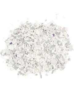 Flocons de Terrazzo, gris clair, 90 gr/ 1 boîte