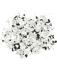 Flocons de Terrazzo, noir, 90 gr/ 1 boîte
