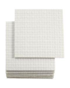 3D foam pads, dim. 5x5 mm, ép. 2 mm, 10x400 pièce/ 1 Pq.