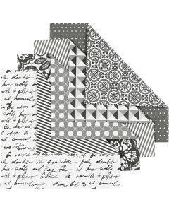 Papier Origami, 80 gr, 50 flles ass./ 1 Pq.