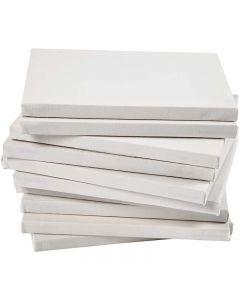 Châssis entoilés, dim. 18x24 cm, 280 gr, blanc, 40 pièce/ 1 Pq.