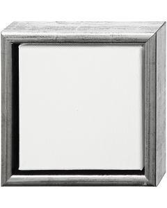 Châssis ArtistLine, dim. 19x19 cm, argent antique, blanc, 1 pièce