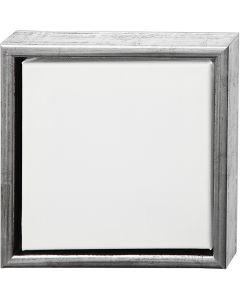 Châssis ArtistLine, dim. 24x24 cm, 360 gr, argent antique, blanc, 1 pièce