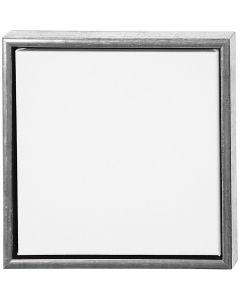 Châssis ArtistLine, prof. 3 cm, dim. 34x34 cm, blanc, argent antique, 1 pièce