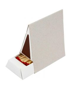 Boîte d'allumettes, dim. 8,5x5x9,5 cm, 10 pièce/ 1 boîte