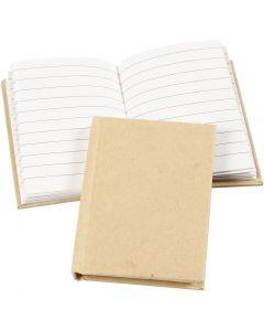Cahier de notes, A7, 60 gr, brun, 1 pièce