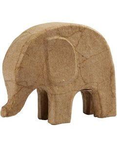 Eléphant, H: 14 cm, L: 17 cm, 1 pièce