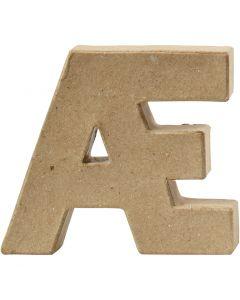 Lettre, Æ, H: 10 cm, ép. 2 cm, 1 pièce
