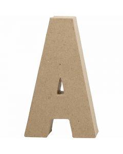 Lettre, A, H: 20,5 cm, L: 11,8 cm, ép. 2,5 cm, 1 pièce