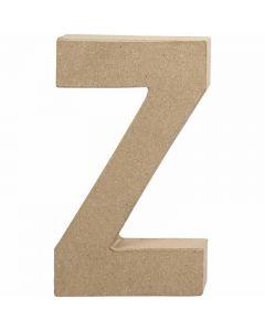 Lettre, Z, H: 20,2 cm, L: 11,2 cm, ép. 2,5 cm, 1 pièce